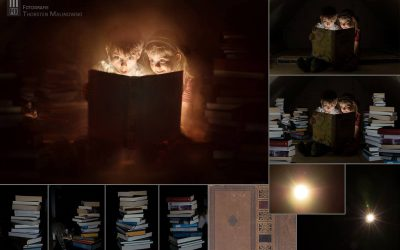Making of – The magic book
