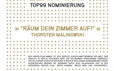 99Fire-Films Award 2016 – Mein Film unter den 99 Besten