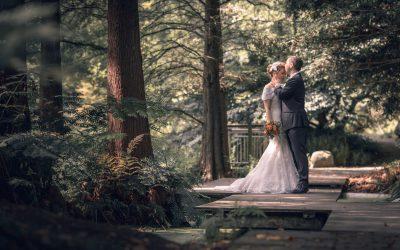 Hochzeit in Bochum und Paarshooting im Botanischen Garten